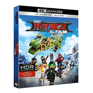 Lego Ninjago - Il Film (Blu-Ray 4K Ultra Hd+Blu-Ray) [Import italien]