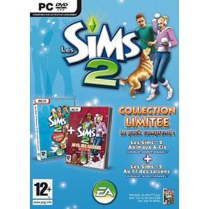 Les Sims 2 : Au Fil des Saisons + Animaux & Cie - Pack d'extensions du jeu [PC]
