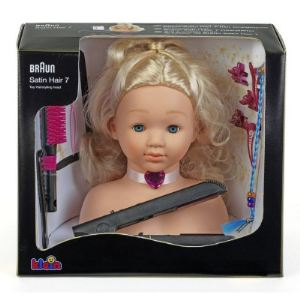 Klein Tête à coiffer avec lisseur Braun Satin Hair 7