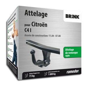 Brink Attelage «col de cygne> démontable avec outils 417800