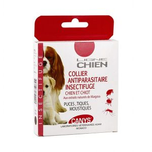 Canys Ligne Chien Collier Antiparasitaire Insectifuge Marron