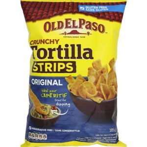 Old el paso Tortilla strips crunchy original