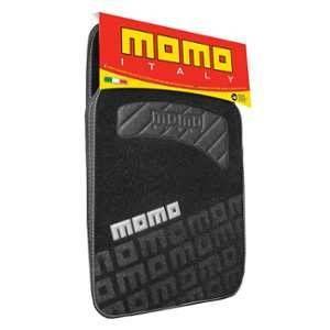 Momo 4 Tapis moquette noir/gris