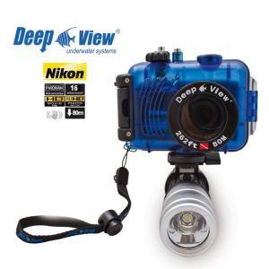 Nikon Coolpix S3300 Pack DeepView : Caisson étanche + Lampe