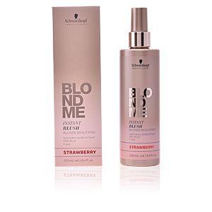 Schwarzkopf BlondMe Instant Blush Strawberry - Sublimateur de blond pastel