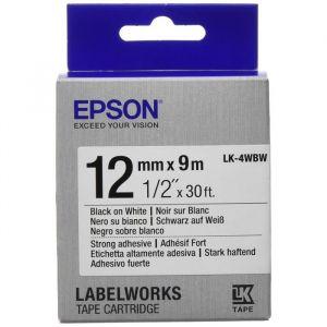 Epson LabelWorks LK-4WBW - Bande d'étiquettes fortement adhésive 1 rouleau