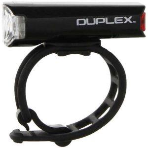 Cateye Eclairages pour casque Duplex (avant et arrière) - Noir