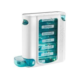 Pilbox Pilulier hebdomadaire Pill Box 7