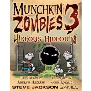 Steve Jackson Games Munchkin Zombies 3 : Hideous Hideouts