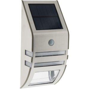 Elexity Applique solaire Led à détecteur de mouvement gris 50 lm