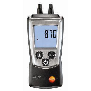 Testo 510 - Manomètre économique pour pression gaz et tirage cheminée