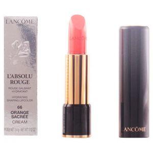 Lancôme L'Absolu Rouge : 66 Orange Sacrée - Rouge galbant hydratant