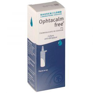 Chauvin arnoux Ophtacalm free 2% - 10 ml COLLYRE