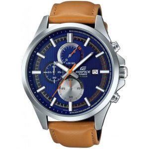 Casio EFV-520L - Montre pour homme avec bracelet en cuir