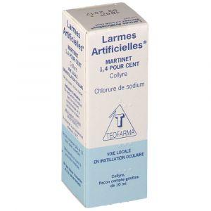 Teofarma Larmes Artificielles 1,4% - 10 ml COLLYRE