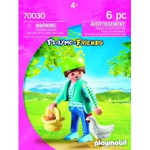 Playmobil 70030 - Fermière avec poule