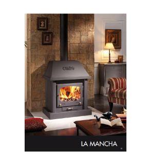 Juan Panadero La Mancha - Cheminée à bois prête à poser