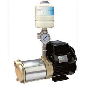 Ribimex Pompe à eau auto-amorçante 1350 W - avec variation de débit, 5 turbines Inox