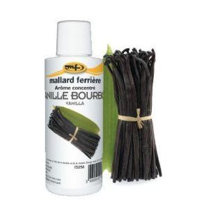 Mallard ferrière Arôme alimentaire concentré Vanille bourbon 125ml