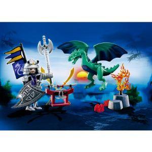 Playmobil 5609 Dragons - Valisette chevalier dragon Asie