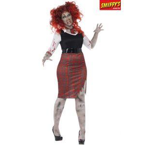 Smiffy's Déguisement écolière plantureuse zombie