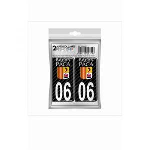 Cadox 2 Stickers En 3d Département Alpes-maritimes 06
