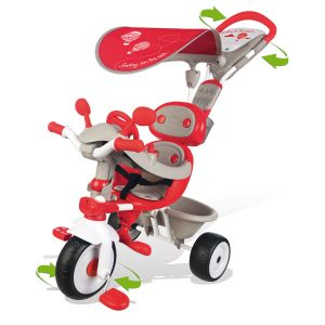 Image de Smoby 434208 - Tricycle Baby Driver Confort