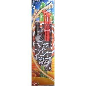 Forest Toys Set Apache : Arc, flèches à ventouse et couteau