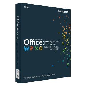 Office Mac 2011 Famille et Petite Entreprise [Mac OS]
