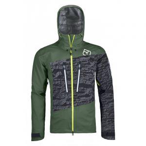 Ortovox 3l Guardian Shell Jacket M Green Forest Vert/noir/gris
