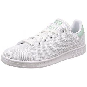Adidas Stan Smith W, Chaussures de Fitness Femme, Blanc (Ftwbla/Ftwbla/Vercen 000), 37 1/3 EU