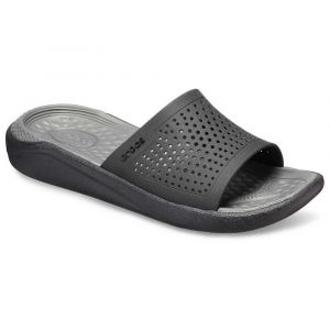 Crocs Tongs Literide Slide - Black / Slate Grey - EU 44 1/2