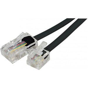 Câble adaptateur RJ11 mâle / RJ45 mâle 5 mètres