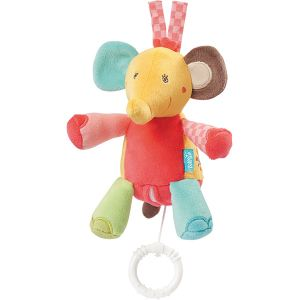 Babysun Peluche musicale Éléphant