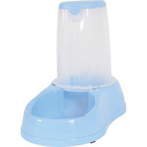 Zolux Distributeur de croquettes antidérapant bleu pastel - 3,5 kg