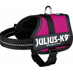 Julius K9 Harnais Power Baby 2 XS-S : 33-45 cm-18 mm Fuchsia