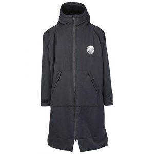 Rip Curl 2018 Winter Surf Poncho/Change Robe BLACK CTWAW4 Mens Wetsuits Size - L