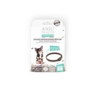Anju Beauté Paris Collier insectifuge pour petit chien 35 cm