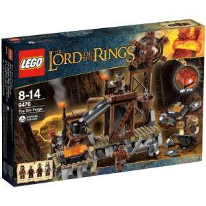 Lego 9476 - Le seigneur des anneaux : La forge des Orques