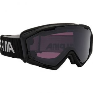 Alpina Panoma Small Magnetic Q+s M40 Quattroflex/CAT1 + SL Black/CAT3 - Masque de ski