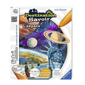 Ravensburger Livre intéractif Tiptoi : Destination Savoir : L'Espace