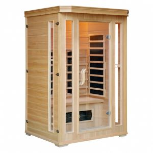 Concept-Usine Cabine Sauna Infra Rouge 2 Places Luxe