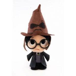 Funko Harry Potter Peluche Super Cute Harry W/ Sorting Hat 18 Cm