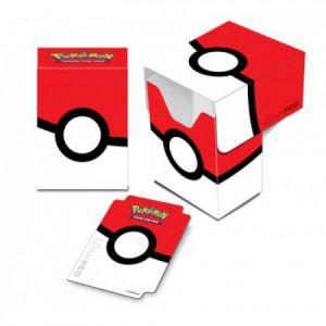 Asmodée Boîte de rangement Pokémon Ultra-Pro Deck Box Pokéball