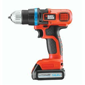 Black & Decker EGBL14K - Perceuse sans fil 14.4V