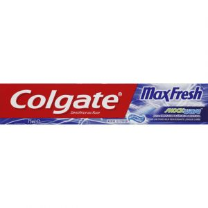 Colgate Dentifrice au fluor - Max Fresh shock wave - Le tube de 75ml