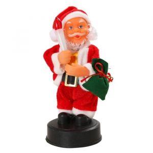 Automate Père Noël avec bougie (20 cm)