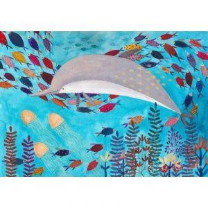 Dtoys Kürti Andrea Tropical : dauphin et poissons - Puzzle 1000 pièces