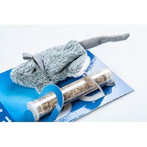 Trixie Herbe à Chat Souris rechargeable, 8 cm