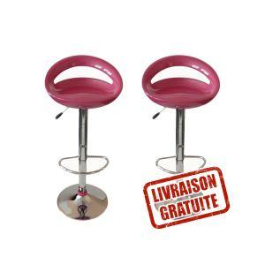tabouret de bar rose comparer 129 offres. Black Bedroom Furniture Sets. Home Design Ideas
